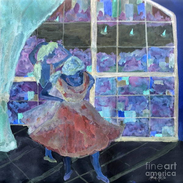 Dansarinas Art Print