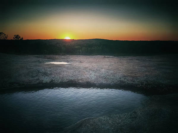 Photograph - Dark Sunset by Mike Dunn
