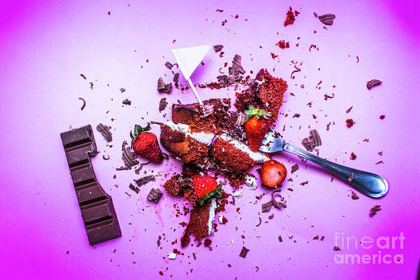 Crumbling Photograph - Death By Chocolate by Jorgo Photography - Wall Art Gallery