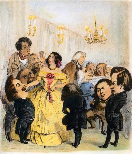 Parody Drawing - Delphine Gay De Girardin, 1804-1855 by Granger