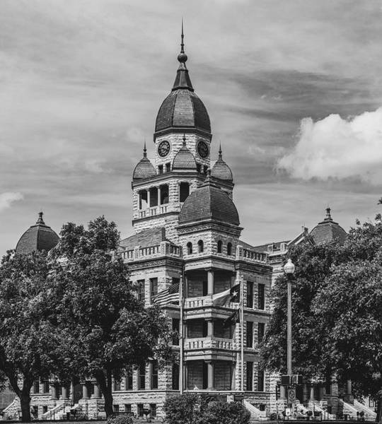 Wall Art - Photograph - Denton County Courthouse by Mountain Dreams