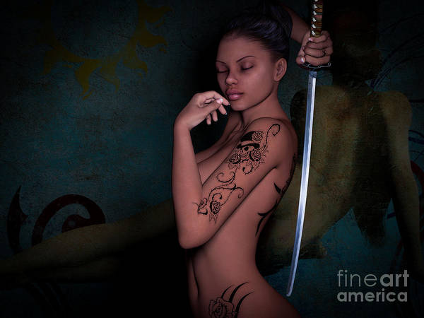 Fate Digital Art - Determine Your Fate by Alexander Butler