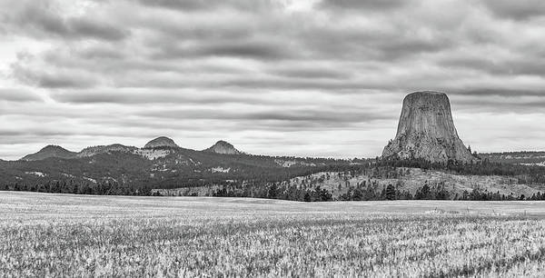 Photograph - Devils Tower National Monument by Victor Culpepper
