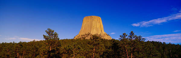 Close Encounters Wall Art - Photograph - Devils Tower National Monument, Wyoming by Panoramic Images