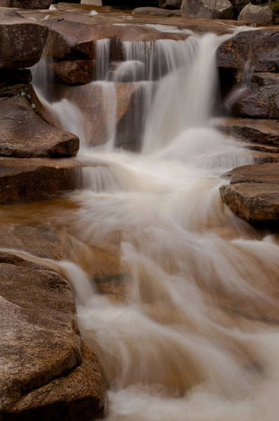 Photograph - Diana's Baths Waterfalls In Bartlett New Hampshire by Brenda Jacobs