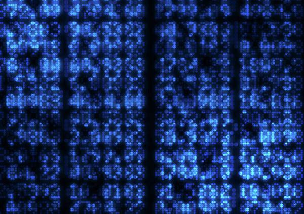 Wall Art - Digital Art - Digital Data Figures  by Allan Swart