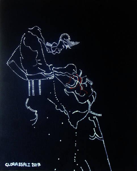 Painting - Dinka Corset - South Sudan by Gloria Ssali