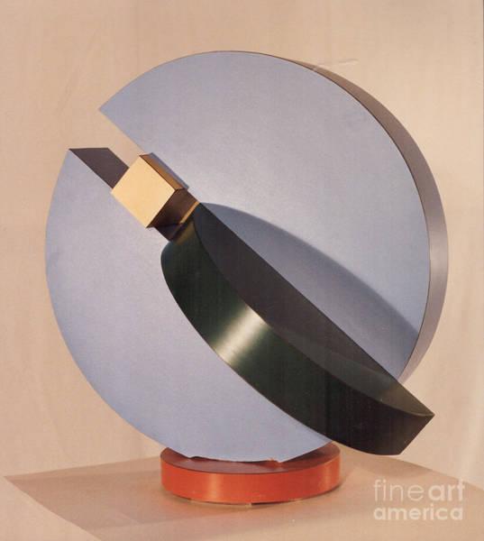 Sculpture - Disc Form by Robert F Battles