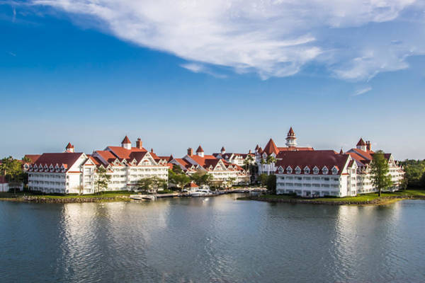 Wall Art - Photograph - Disney's Grand Floridian Resort And Spa by Sara Frank