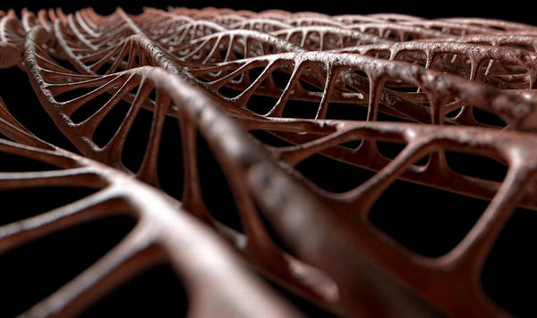 Chemistry Digital Art - Dna Strand Micro by Allan Swart