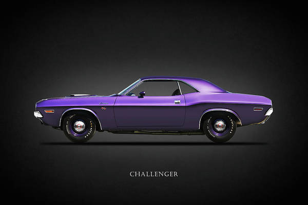 Challenger Photograph - Dodge Challenger by Mark Rogan