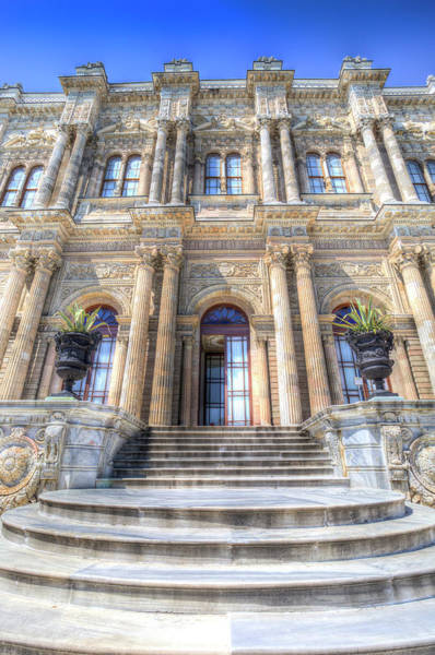 Wall Art - Photograph - Dolmabahce Palace Istanbul  by David Pyatt