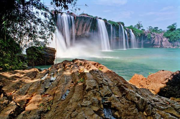 Photograph - Draynur Waterfall by Tran Minh Quan