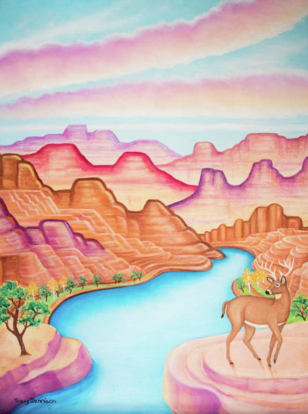Painting - Dreamland by Tracy Dennison
