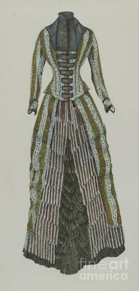 Wall Art - Drawing - Dress by Ray Price