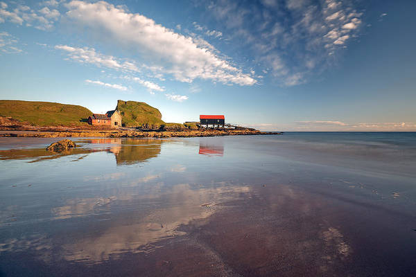 Photograph - Dunaverty Bay by Grant Glendinning