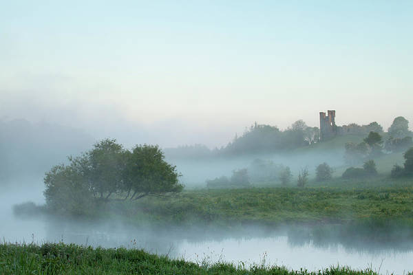 Dunmore East Photograph - Dunmoe Castle County Meath by Peter McCabe