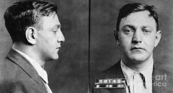 Photograph - Dutch Schultz (1902-1935) by Granger