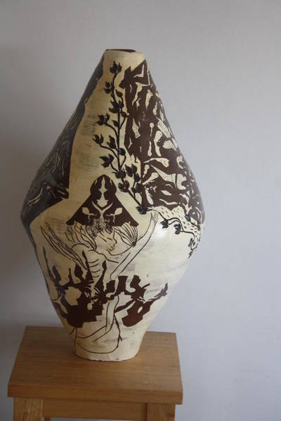 Ceramic Art - Eden - The Tree Of Life by Gloria Ssali