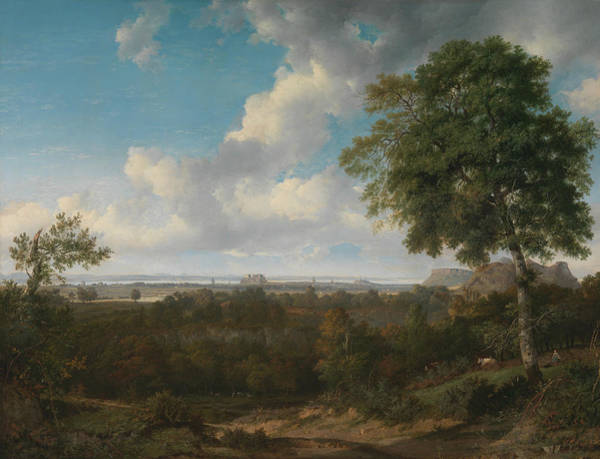 Braid Painting - Edinburgh From The Braids by Patrick Nasmyth