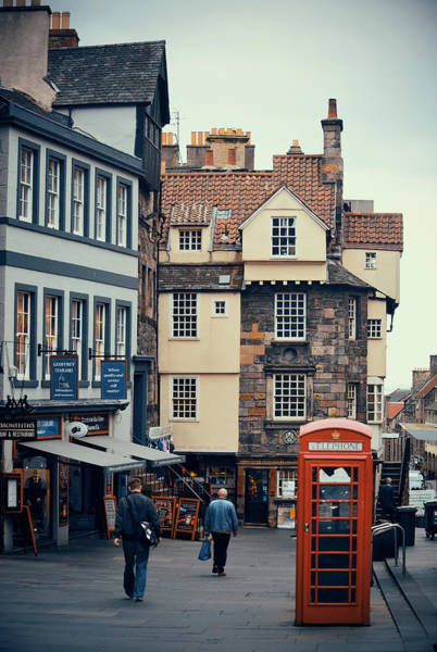 Wall Art - Photograph - Edinburgh Street by Songquan Deng
