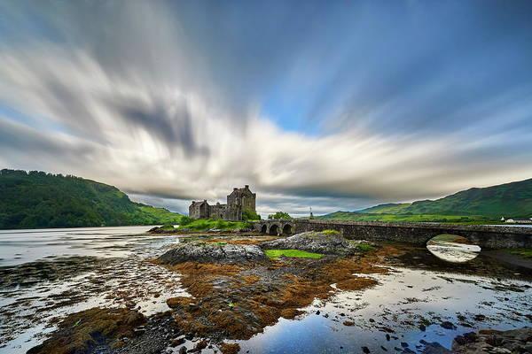 Scottish Landscape Photograph - Eilean Donan Castle by Jan Sieminski
