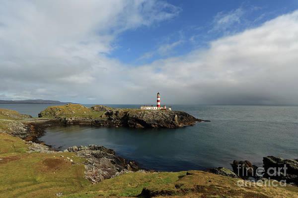 Eilean Glas Lighthouse Art Print