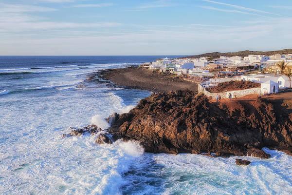 Wall Art - Photograph - El Golfo - Lanzarote by Joana Kruse