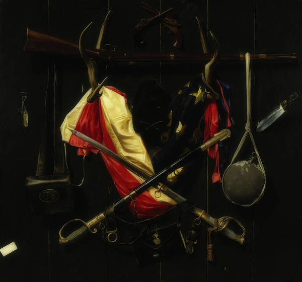Wall Art - Painting - Emblems Of The Civil War by Alexander Pope