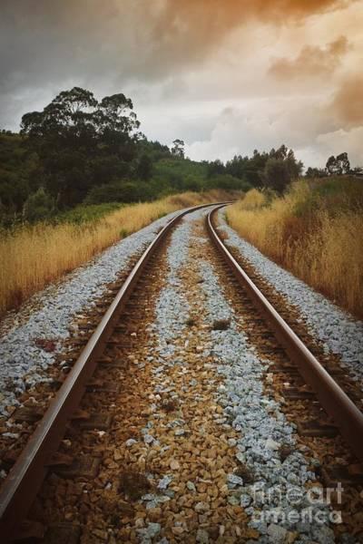 Wall Art - Photograph - Empty Railway by Carlos Caetano