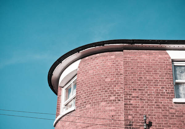 Gutter Photograph - English Building by Tom Gowanlock