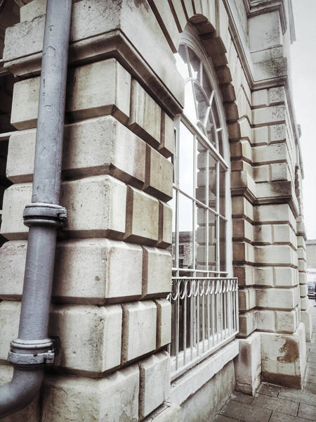 Wall Art - Photograph - English Buildings Detail by Tom Gowanlock
