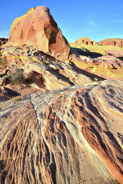 Photograph - Entrance To Pastel Canyon In Valley Of Fire by Ray Mathis