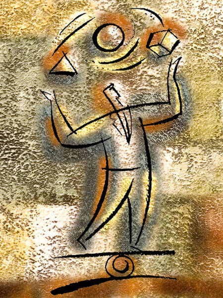 Balance Painting - Entrepreneur by Leon Zernitsky