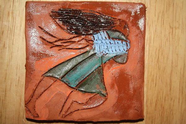 Ceramic Art - Erica - Tile by Gloria Ssali