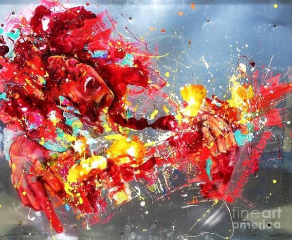 Wall Art - Painting - Esperanza Spalding by Massimo Chioccia