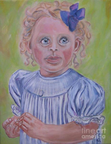 Painting - Evelynn by Oksana Semenchenko