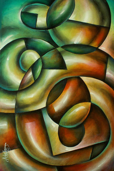 Wall Art - Painting - 'evolution' by Michael Lang