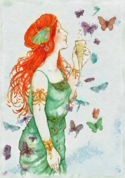 Pixie Painting - Fairy by Sarah Kirk