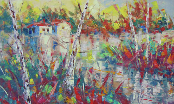 Painting - Fall In Provence by Frederic Payet