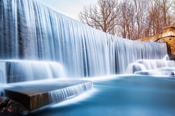 Photograph - Falling Water by Mihai Andritoiu