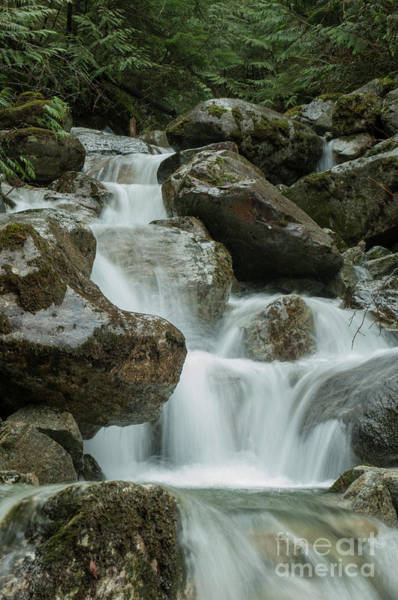 Mission Bc Photograph - Falls by Rod Wiens