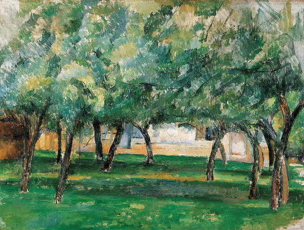 Normandy Painting - Farm In Normandy  by Paul Cezanne