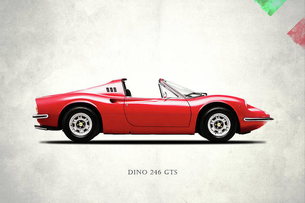 Wall Art - Photograph - Ferrari Dino 246 Gts by Mark Rogan