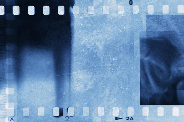 Cinematography Photograph - Film Strips by Les Cunliffe
