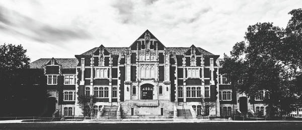 State Of Indiana Photograph - Fine Arts Building - Ball State University by Library Of Congress