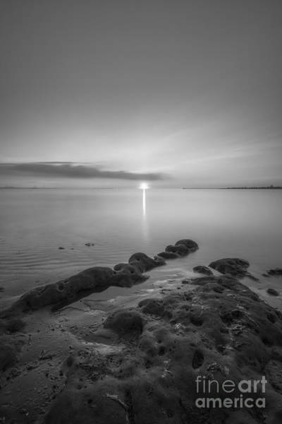 First Light Wall Art - Photograph - First Light Bw by Michael Ver Sprill