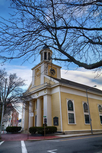 Photograph - First Parish Church Beverly Ma by Jeff Folger