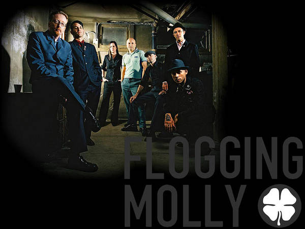 Wall Art - Digital Art - Flogging Molly by Mery Moon