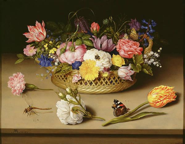 Painting - Flower Still Life by Ambrosius Bosschaert